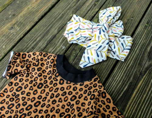 Shirt - Animal Print Shirts For Toddlers - Cheetah Top