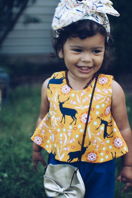 Shirt - Yellow Baby Girl Blouse