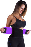Purple Power Belt Fitness Waist Trainer