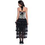 Elegant Princess Dancing Corset Skirt Set