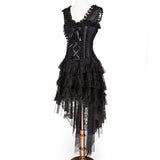Vintage Burlesque Queen Corset Dress