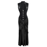 Steampunk Gothic Corset Skirt Set