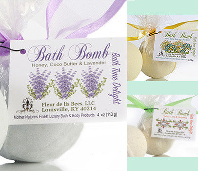 Bombs Away!  Bath Bomb Collection of 6.