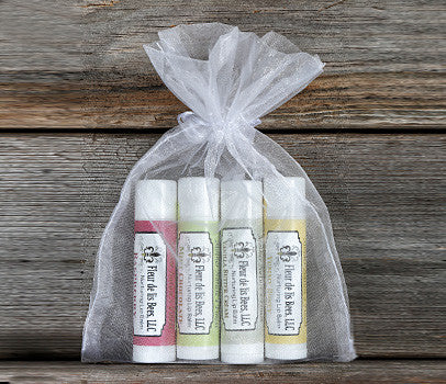 Nourishing Lip Treatment : 4 - Lip Balms!