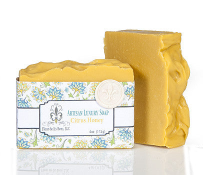 Citrus Honey Soap