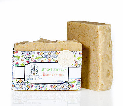 Honey Oats and Goats Soap