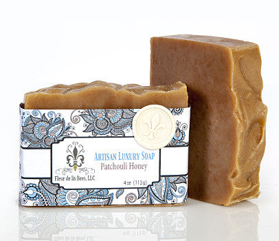 Patchouli and Honey Soap