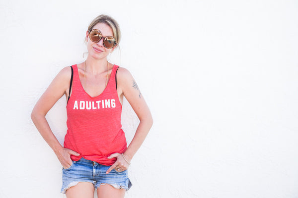 Adulting Tanktop