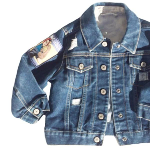 We Can Do It - Denim Jacket