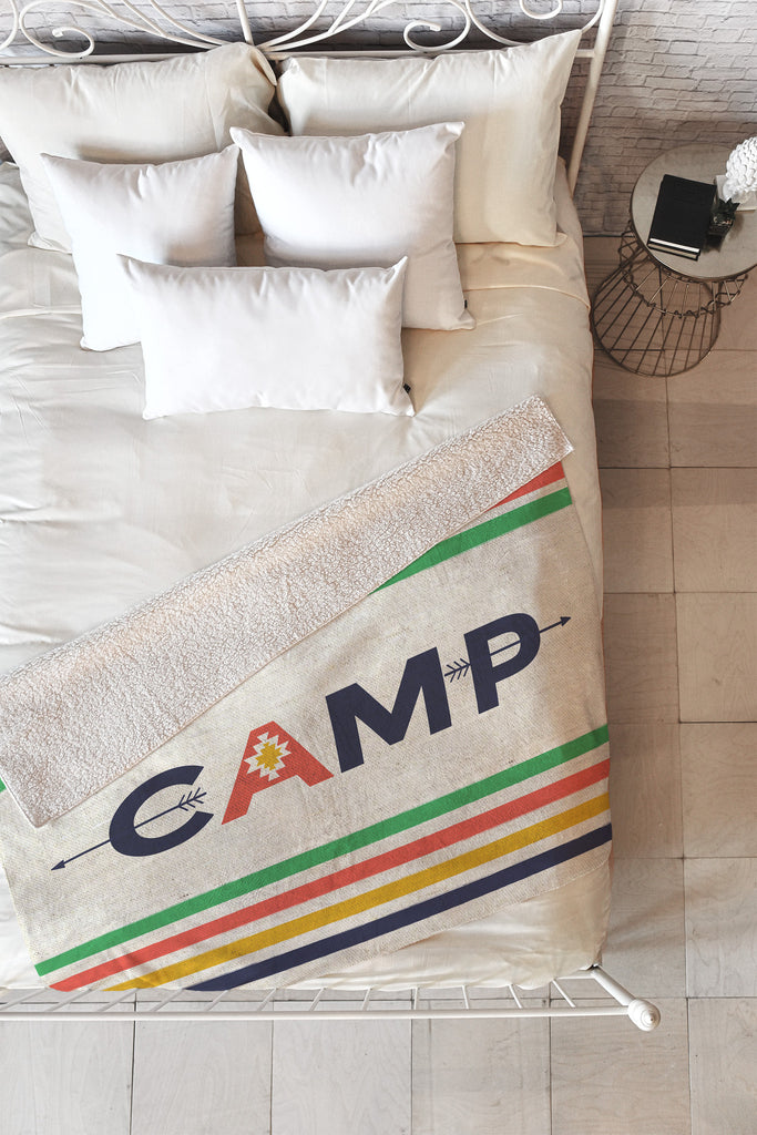 Bonfire Camp Blanket