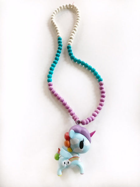 Whimsy Unicorn Girl's Necklace