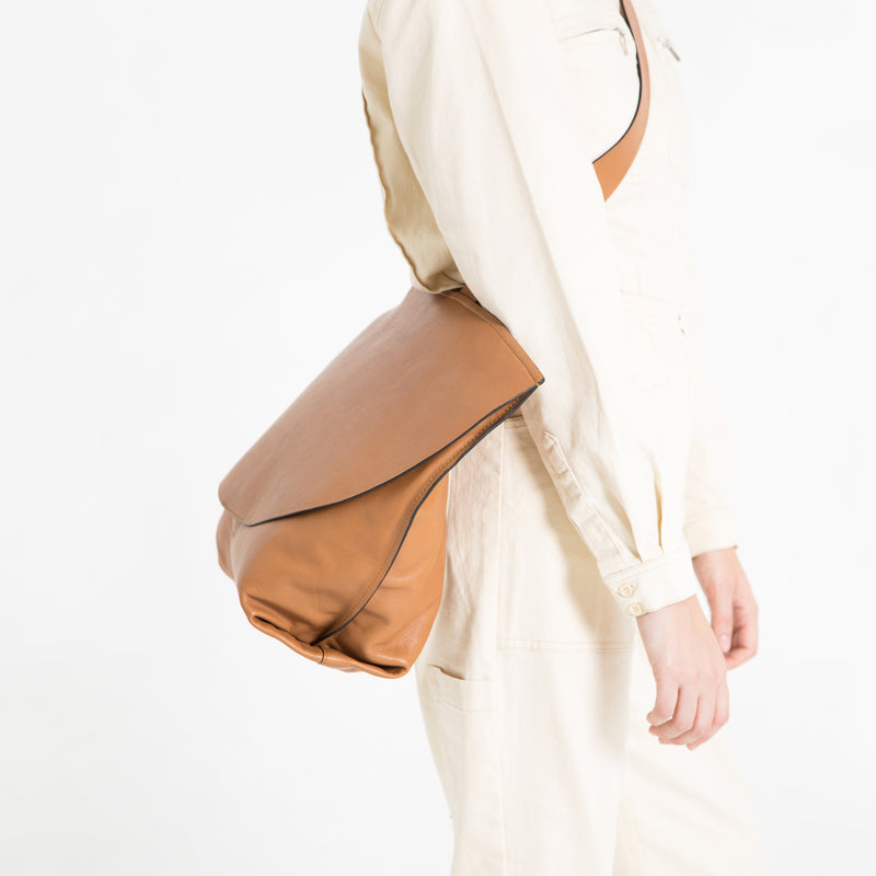 Growlmama London Carry | Camel | Luxury Handbag