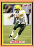 A.J. Harris CFL card 2008 Jogo rookie shortprint #6R Edmonton Eskimos  Northern Illinois Huskies