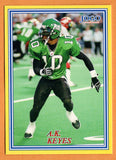 A.K. Keyes CFL card 2004 Jogo #268 Saskatchewan Roughriders  Oregon Ducks