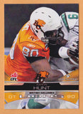 Aaron Hunt CFL card 2009 Extreme #10 BC Lions  Texas Tech Red Raiders