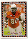 Aaron Hunt CFL card 2006 Pro Player Jogo #147 BC Lions  Texas Tech Red Raiders