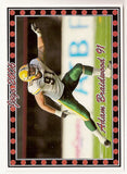 Adam Braidwood CFL card 2006 Pro Player Jogo #105 Edmonton Eskimos  Washington State Cougars