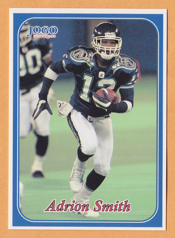 Adrion Smith CFL card 2003 Jogo #85 Toronto Argonauts  Southwest Missouri State Bears