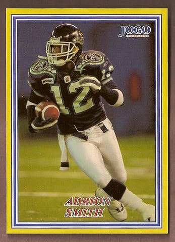 Adrion Smith CFL card 2004 Jogo #201 Toronto Argonauts  Missouri State Bears
