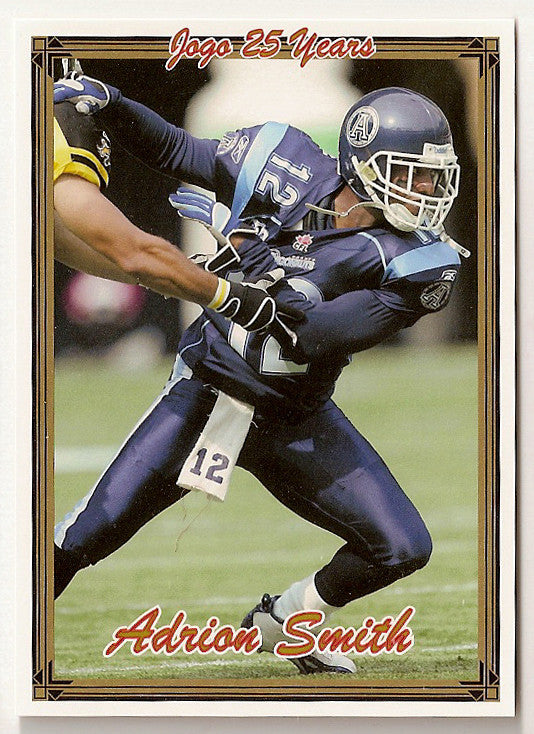 Adrion Smith CFL card 2005 Jogo #136 Toronto Argonauts  Southwest Missouri State Bears