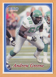 Andrew Greene CFL card 2003 Jogo #268 Saskatchewan Roughriders  Indiana Hoosiers