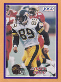 Andrew Grigg CFL card 1995 Jogo #341 Hamilton Tiger-Cats  Sault Ste. Marie Storm