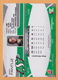 Andy Fantuz CFL card 2009 Extreme #63 Saskatchewan Roughriders  Western Ontario Mustangs