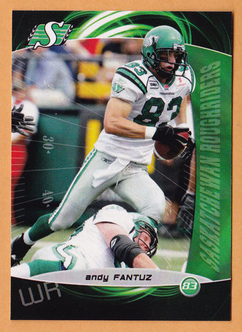 Andy Fantuz CFL card 2008 Extreme #68 Saskatchewan Roughriders  Western Ontario Mustangs