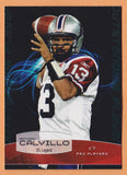 Anthony Calvillo CFL card 2008 Extreme #01 Montreal Alouettes  Utah State Aggies  Hall of Fame