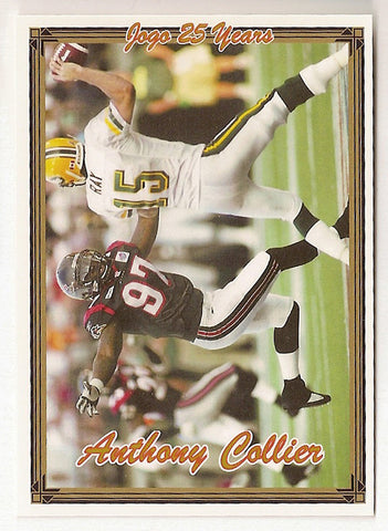 Anthony Collier CFL card 2005 Jogo #17 Ottawa Renegades  Baylor Bears