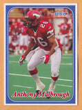 Anthony Malbrough CFL card 2003 Jogo #171 Calgary Stampeders  Texas Tech Red Raiders