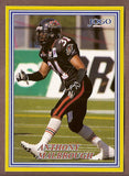 Anthony Malbrough CFL card 2004 Jogo #122 Ottawa Renegades  Texas Tech Red Raiders
