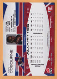 Avon Cobourne CFL card 2009 Extreme #142 Montreal Alouettes  West Virginia Mountaineers