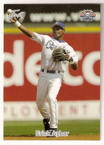 Erick Aybar 2005 Just Minors Road to the Show Minor League Baseball Rancho Cucamonga Quakes  Bani, Dominican Republic  |  Los Angeles Angels Atlanta Braves Detroit Tigers San Diego Padres