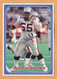 Ben Fairbrother CFL card 2003 Jogo #233 BC Lions  Calgary Dinos