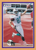 Billy Hess CFL card 1995 Jogo #263 San Antonio Texans  West Chester Golden Rams