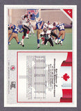 Bob Cameron CFL card 1992 All World #44 Winnipeg Blue Bombers  Acadia Axemen  Hall of Fame