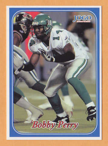 Bobby Perry CFL card 2003 Jogo #264 Saskatchewan Roughriders  Prairie View A&M Panthers