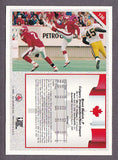 Brent Matich CFL card 1992 All World #136 Calgary Stampeders  Calgary Dinos