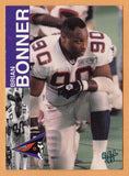 Brian Bonner CFL card 1995 REL #109 Shreveport Pirates  Minnesota Golden Gophers