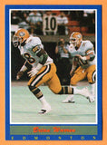 Brian Warren CFL card 1988 Jogo #20 Edmonton Eskimos  Arizona Wildcats