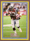 Bruno Heppell CFL card 2004 Jogo #31 Montreal Alouettes  Western Michigan Broncos