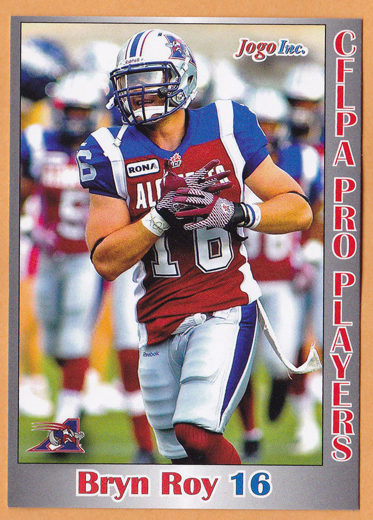 Bryn Roy CFL card 2012 Jogo Pro Player #164 Montreal Alouettes  Texas A&M Commerce Lions