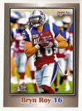 Bryn Roy CFL card 2012 Jogo #164 Montreal Alouettes  Texas A&M Commerce Lions