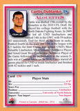Curtis Dublanko CFL card 2012 Jogo Pro Player #150 Montreal Alouettes  North Dakota Fighting Sioux
