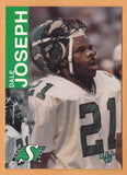 Dale Joseph CFL card 1995 REL #99 Saskatchewan Roughriders  Howard Payne Yellow Jackets