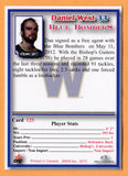Daniel West CFL card 2012 Jogo Pro Player #125 Winnipeg Blue Bombers  Bishop's Gaiters
