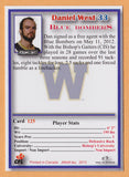 Daniel West CFL card 2012 Jogo #125 Winnipeg Blue Bombers  Bishop's Gaiters