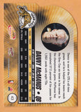Danny McManus 2003 Pacific Atomic CFL card #43 Hamilton Tiger-Cats  Florida State Seminoles  Hall of Fame