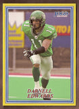 Darnell Edwards CFL card 2004 Jogo #18 Saskatchewan Roughriders  Manitoba Bisons